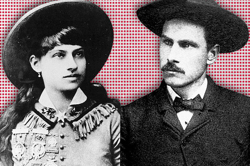 Annie Oakley and Frank Butler